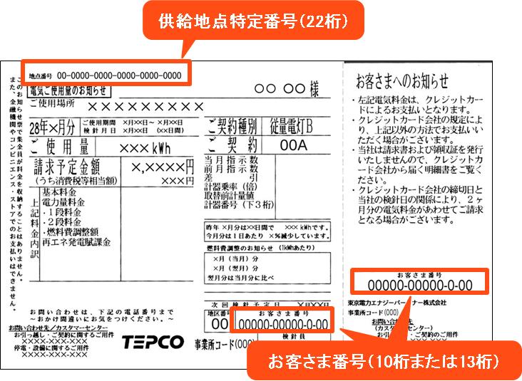 tepco 事業 所 コード